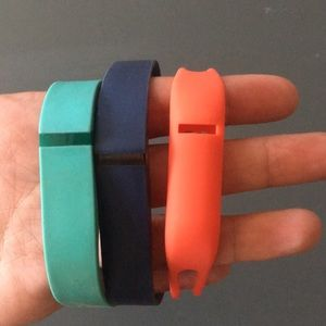 Jewelry - Set of 3 Athletic FitBit Bands